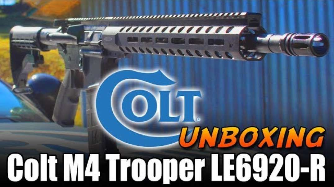 8:56 Colt Trooper M4Colt LE6920-R AR15 -Unboxing and initial thoughts HD