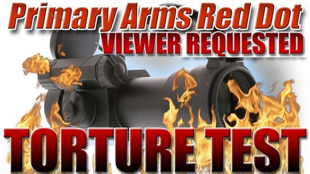 TORTURE TEST: Primary Arms Red Dot