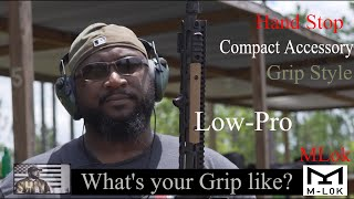 Low Pro MLok Hand Stop Quick look(#lifeisshwell)