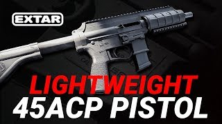Extar EP45 Lightweight Pistol Review