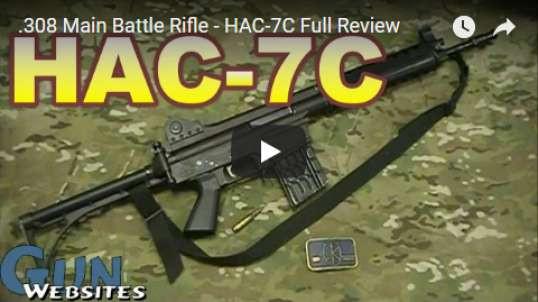 .308 Main Battle Rifle - HAC-7C Full Review