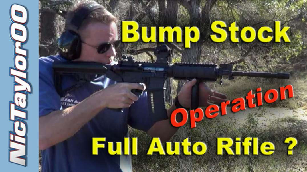 BumpFire Stock Overview - Banned on YouTube