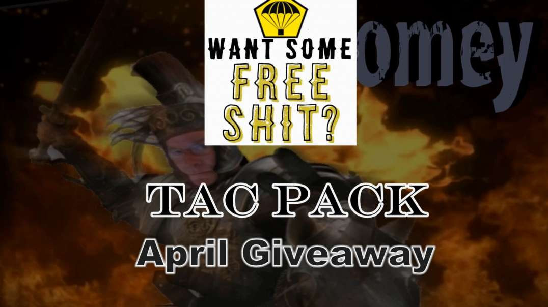 April Tac Pack Giveaway