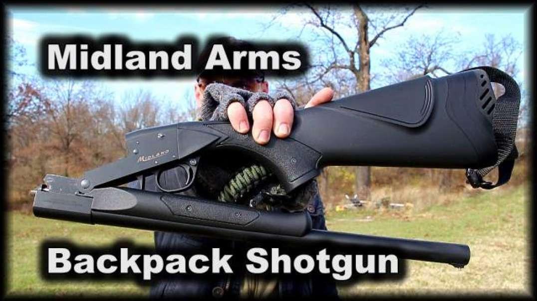 Best budget single shot, Midland Arms Backpack Shotgun