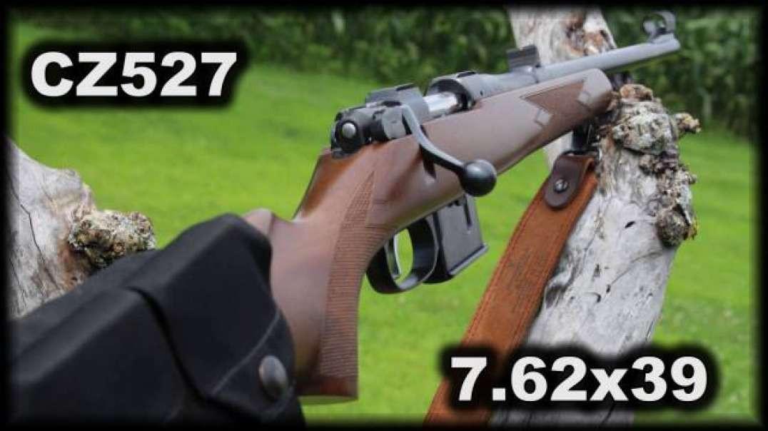 CZ527 7.62x39 shooting