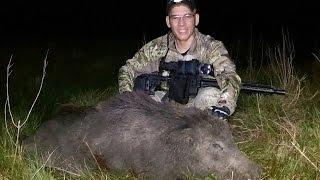 Thermal Hog 300 AAC Blackout Pulsar Apex XD75  1st Night Texas Hog #2
