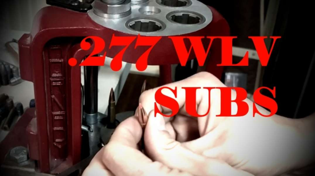 "Making .277 Wolverine 150gr Subsonic Loads for 7 Twist 14.5"" Barrel Upper"