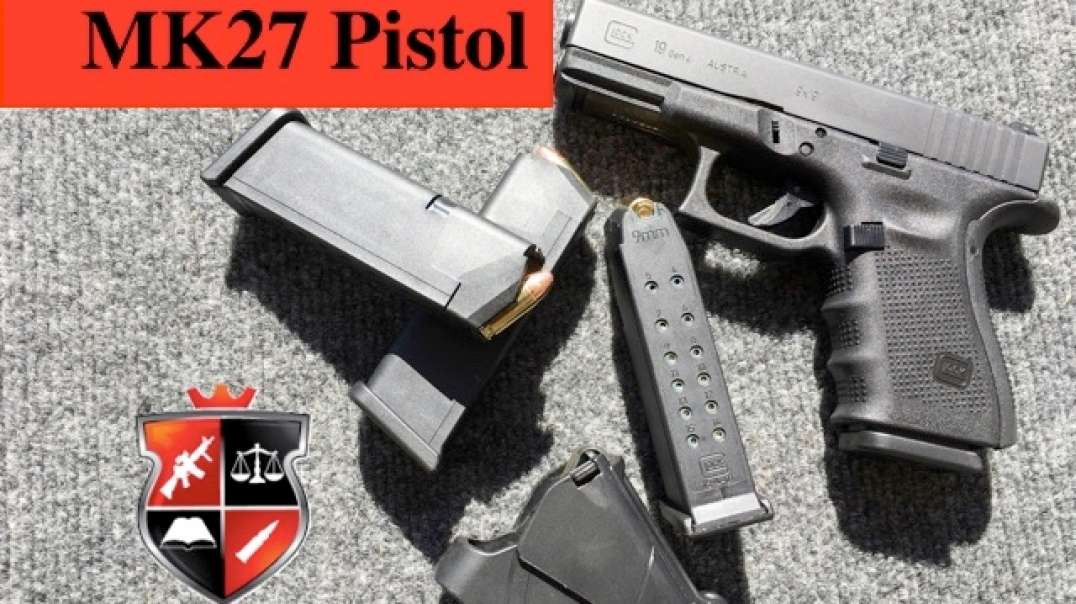 MK27 Pistol (Glock 19 Gen 4)