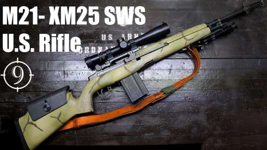 M21 (M14/M1a sniper) Review with IMI Razor Core 168 gr 7.62 match