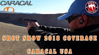 One of the Most Innovative Guns in the Market!  Caracal USA Enhanced F Review:  Shot Show 2018