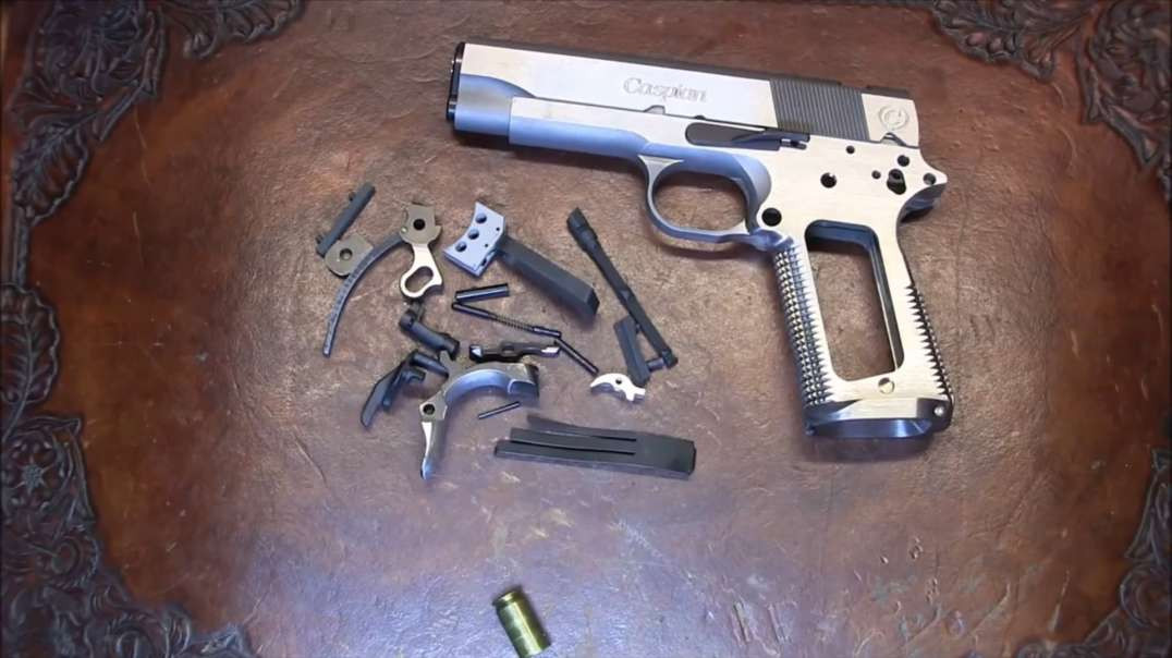 1911 Build 8 Commander 45 acp - Part 9 - Fitting and Troubleshooting
