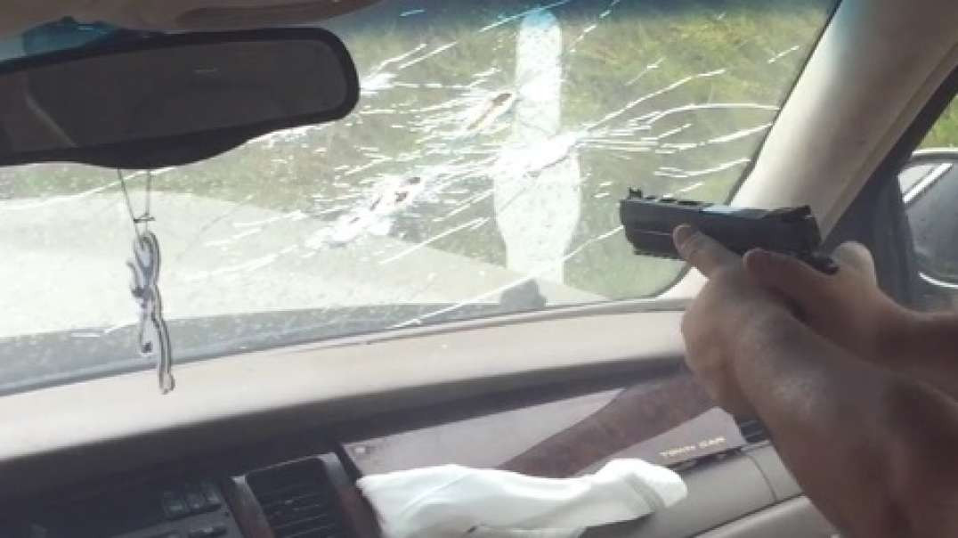 Windshield Deflection, shooting from inside the car