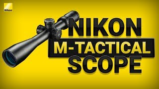 Nikon M Tactical Scope