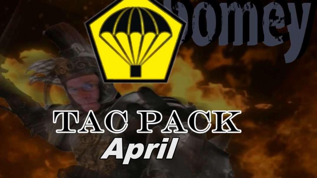 April Tac Pack