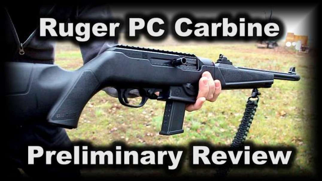 Ruger PC Carbine preliminary Review