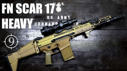 FN SCAR 17 Heavy/Mk17 review with a Green Beret and Chris Bartocci (Accuracy with Federal GMM 175gr)