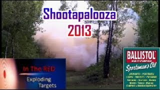 Shootapalooza 2013 - IN THE RED TARGETS
