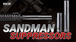 Long vs Short Suppressor Test - Dead Air Sandman-K vs Sandman-L