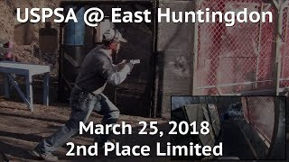 USPSA @ East Huntingdon - March 25, 2018 - Limited
