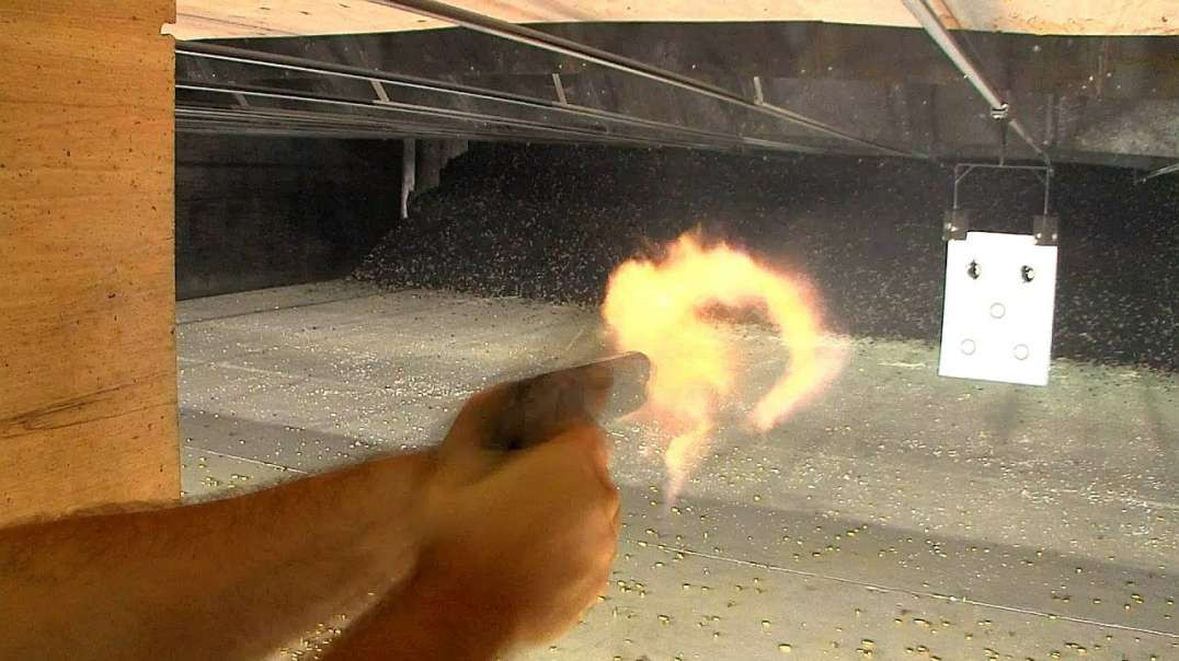 1911 Build 8 Commander 45 acp - Part 10 - Test Fire with no Sights