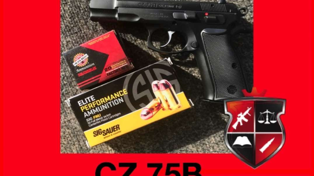 Review of the CZ 75B Pistol
