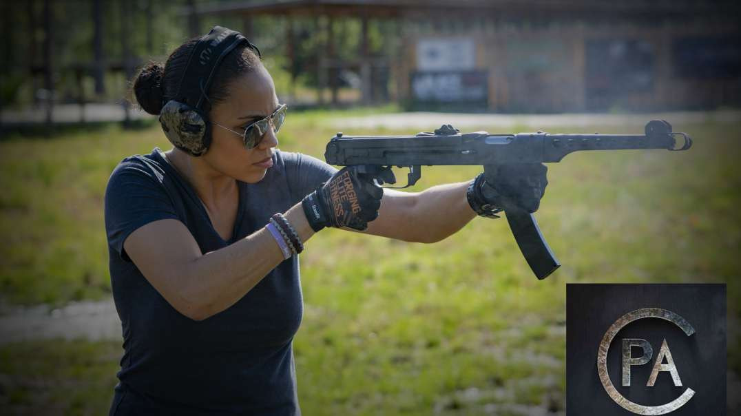 Angry Wife has some fun with the PPS-43C from Pioneer Arms