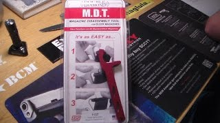MDT : Magazine Disassembly Tool for Glocks