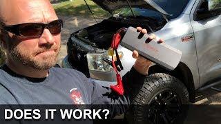 V8 Jump Starter - Does it work?