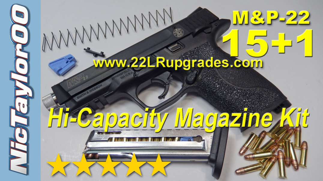Smith & Wesson M&P 22lr 15+1 (15rd) High Cap Magazine