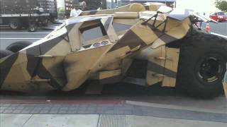 The Latest Bat Mobile