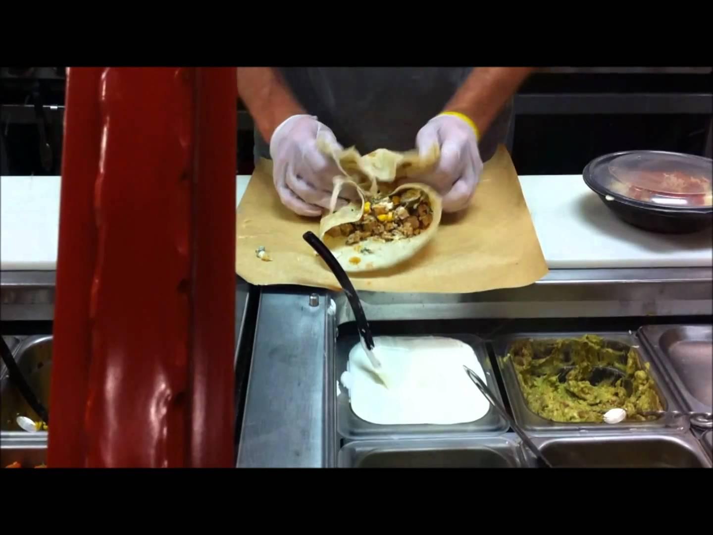 """""""Bob"""" My Burrito-- Panchero's Mexican Grill Burrito!"""