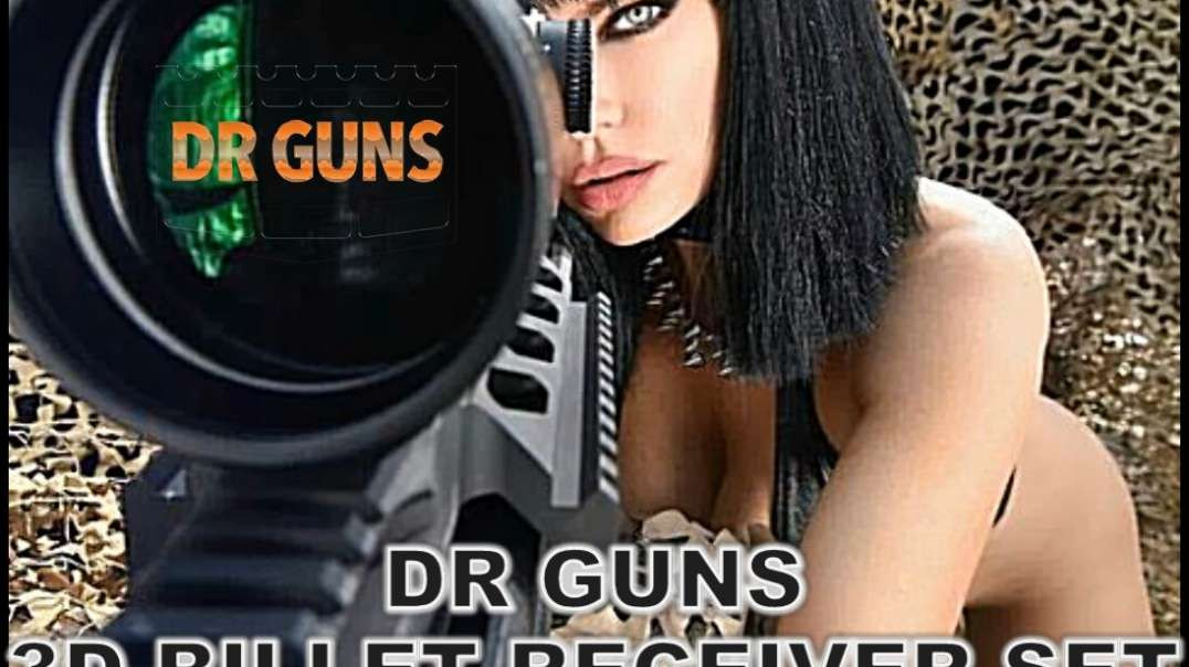 DR GUNS 3D BILLET RECEIVER SET