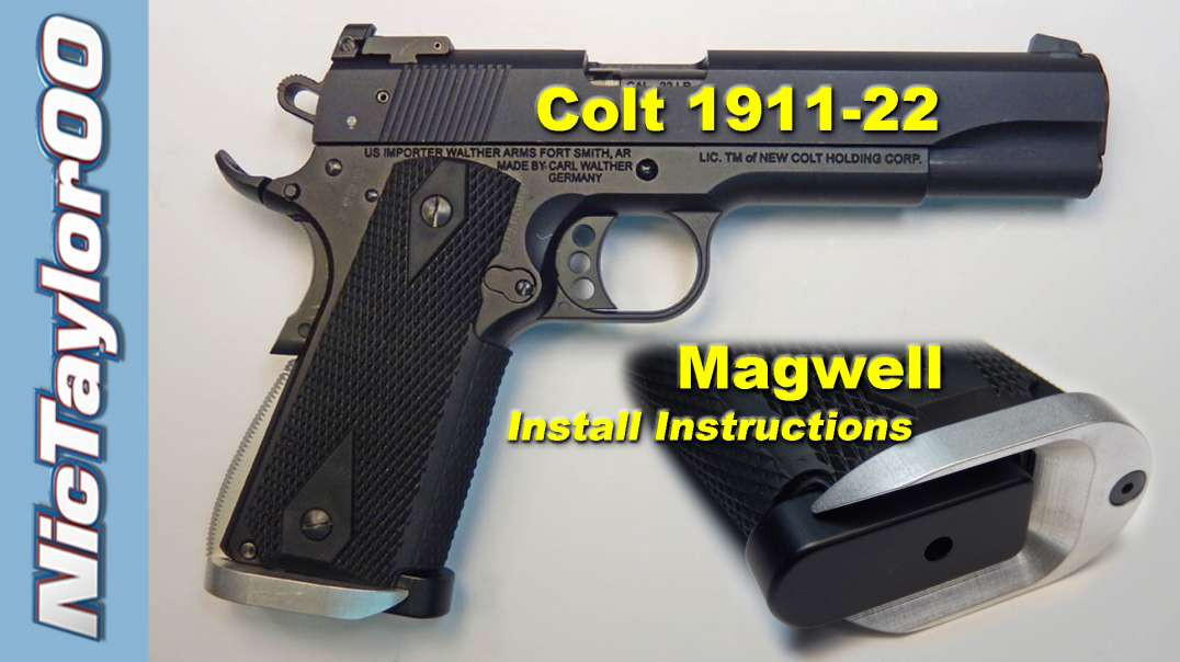 Colt 1911 22lr Magwell - The Only One Available
