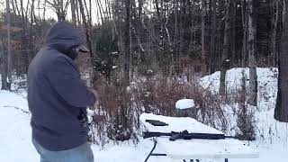 AR Drills in cold 1°F with insulated gloves