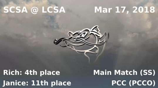 SCSA @ LCSA - March 17, 2018 - Single Stack & PCC (FX-9)