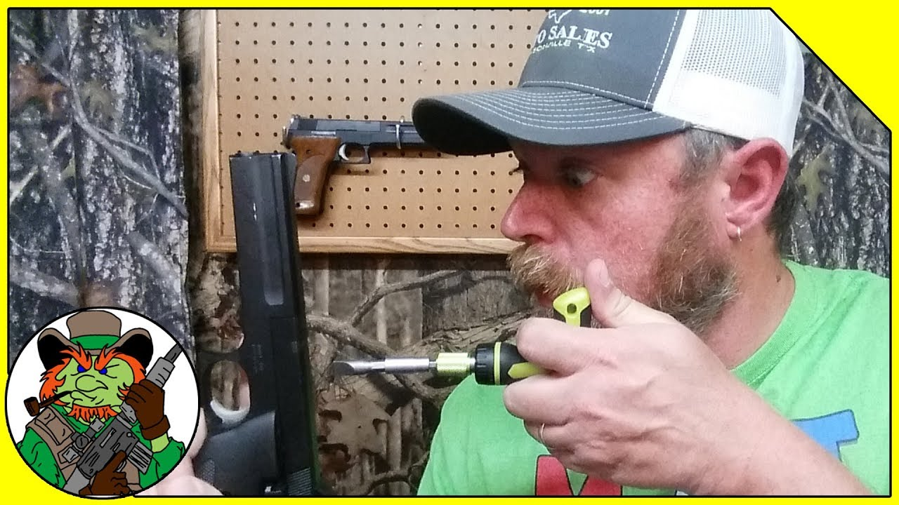 S&W 422 Pistol Barrel Nut Installation - Smith & Wesson 422 22LR Field or Target