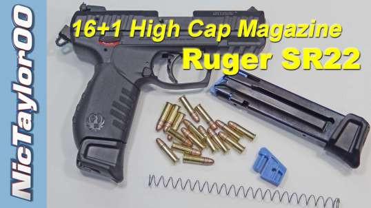Ruger SR22 16+1 High Capacity Magazine Kit
