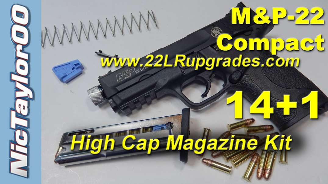 S&W M&P22 Compact 14+1 High Capacity Magazine