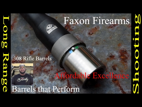 Faxon Firearms Barrels and what to expect
