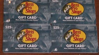 100 Dollar Bass Pro Shops Giveaway- KFW 300 Sub Giveaway