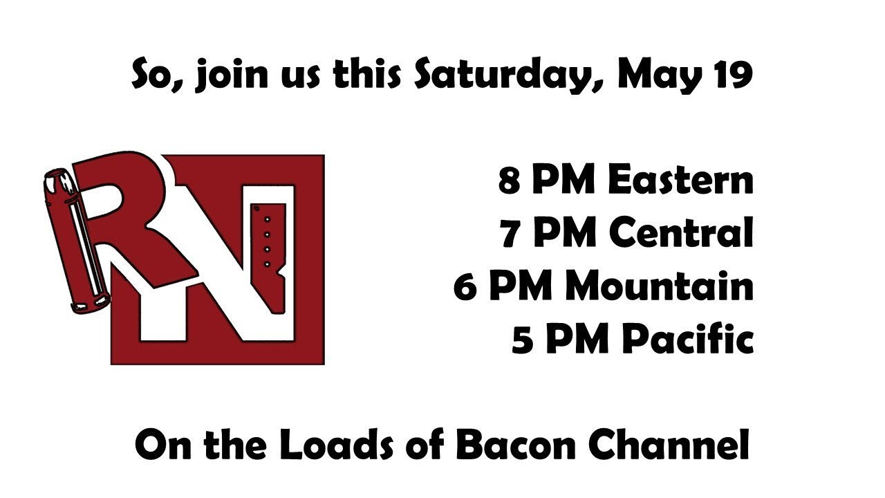 Live Stream this Saturday (May 19), and a major achievement!