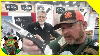 Buck Knives Booth - Interview With CJ Buck At NRA Annual Meeting 2018 #NRAAM2018