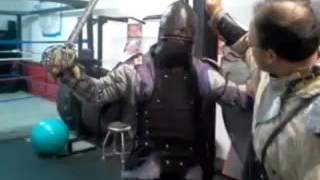 Sword and Shield Training at Pocono Gym - Part 2