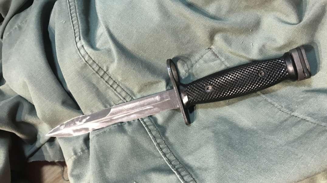 Vietnam era m16 bayonet how sharp is it really