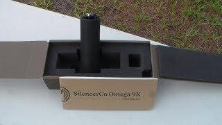 SilencerCo Omega 9K on CZ Scorpion Evo 3