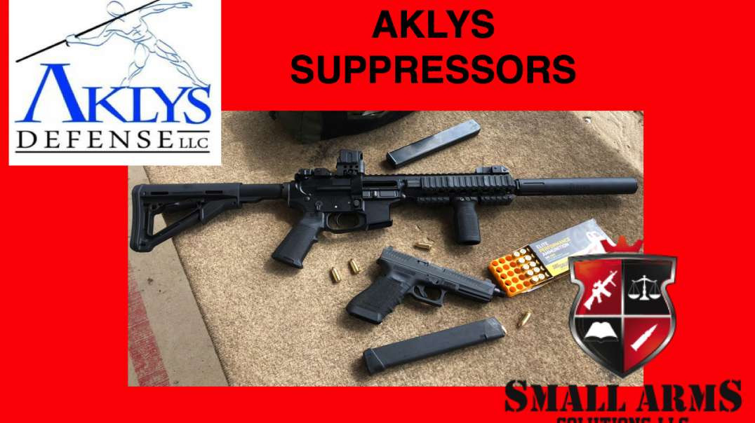 Akly's Defense Kopis and Pilum Suppressors with Joe Meaux