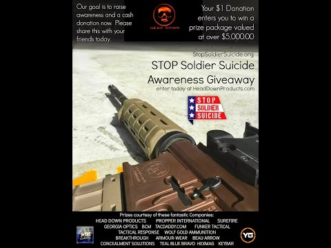 Stop Soldier Suicide with Tac Daddy & Head Down