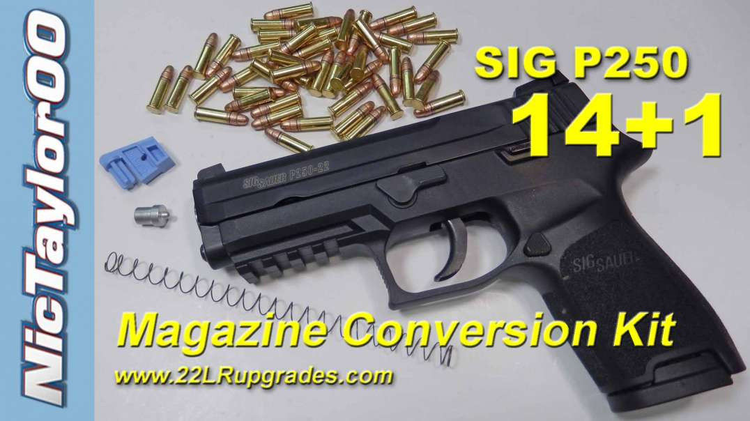 Sig P250 22LR 14+1 High Capacity Magazine