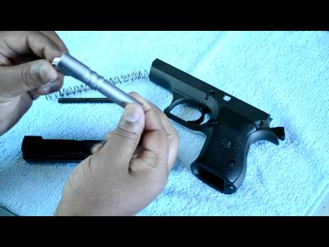 Field Stripping the BDE II 9mm Compact