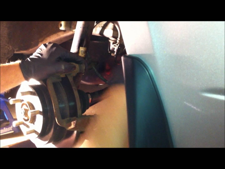 """How to: 2002 Subaru Impreza WRX """"H6"""" rear rotor upgrade"""